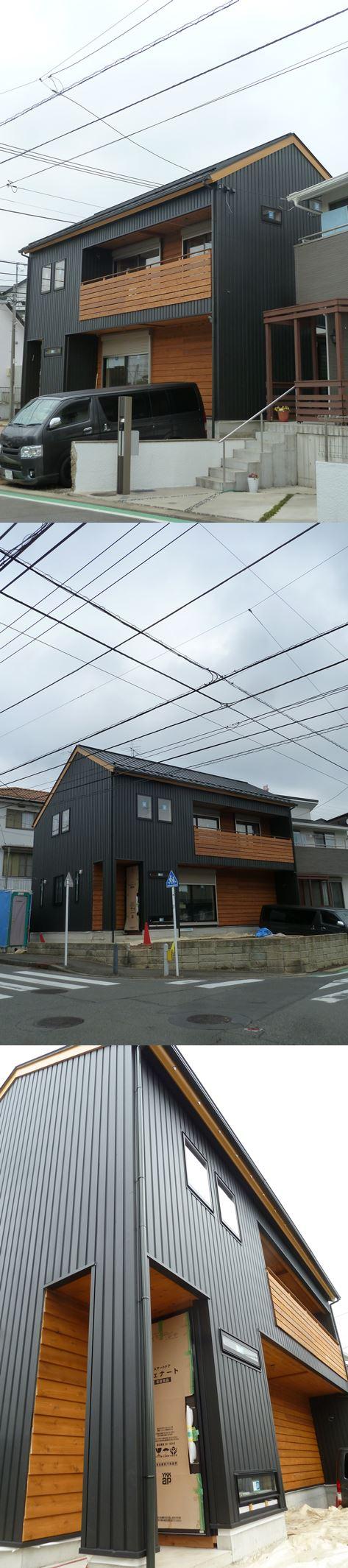 横浜市青葉区の家☆足場が外れました!_c0152341_8403722.jpg
