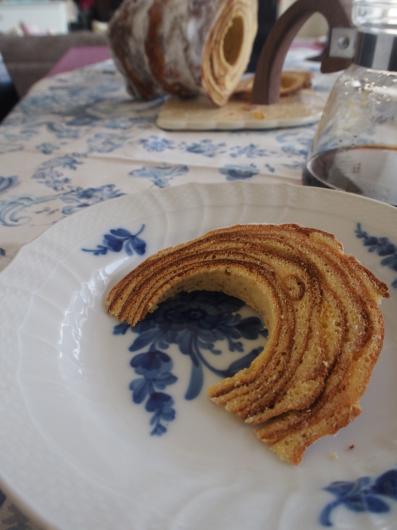 Gâteau à la broche @ PIERRE PRÉCIEUSE_e0214541_14140235.jpg