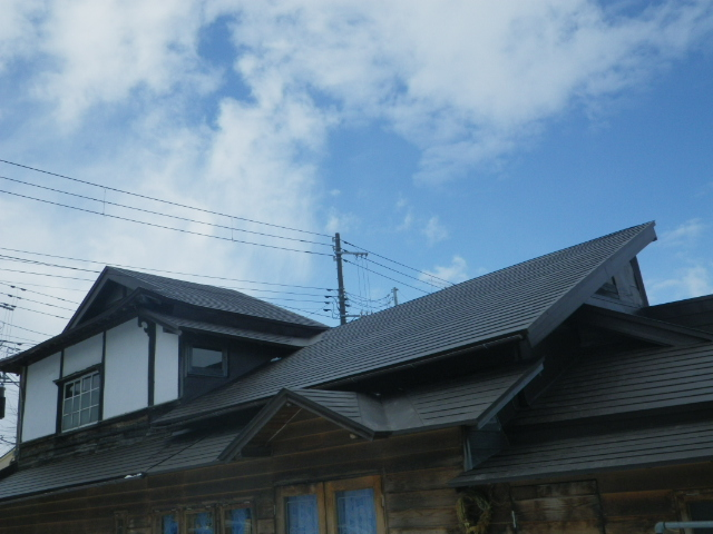 ミル屋根。。。3_b0207642_2238844.jpg
