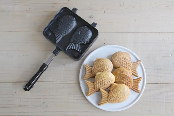 本格薄皮たい焼きとふわふわパンケーキとホットサンド_f0149855_5364343.jpg