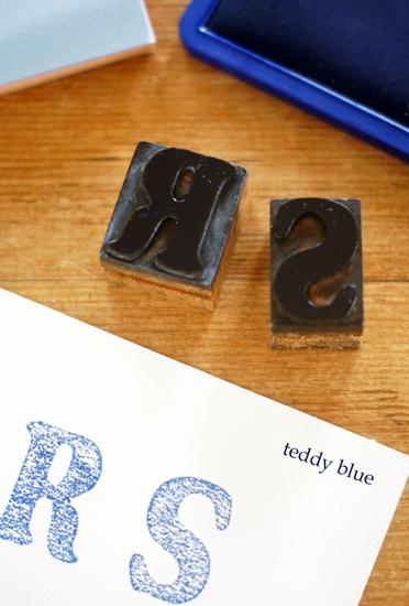 vintage wooden typeset block letter ウッドブロックレター_e0253364_20243670.jpg