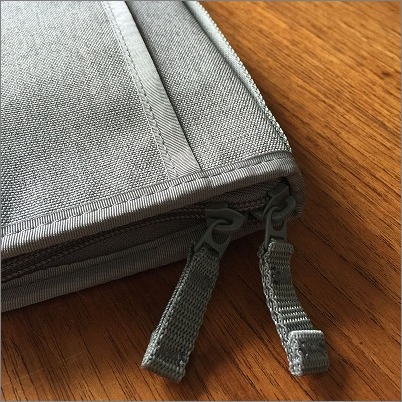 【 無印良品で見つけたケースに母子手帳を 】_c0199166_14352860.jpg