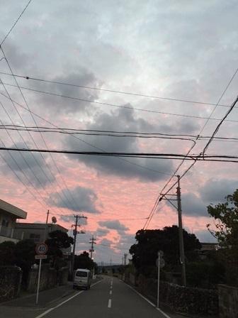 小浜島の朝焼け_f0202682_11013629.jpg