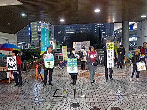 新宿西口反戦意思表示_a0188487_14513752.jpg