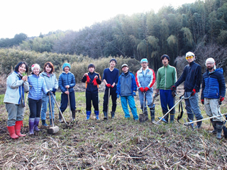 やつだ開拓団 第二期団員募集 -美しい谷津田の風景を復活させよう-_c0177665_18191837.jpg