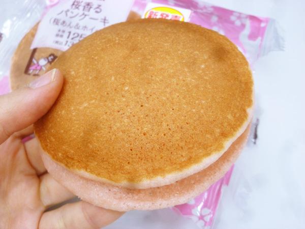 桜香るパンケーキ(桜あん&ホイップ)@ローソン_c0152767_229116.jpg