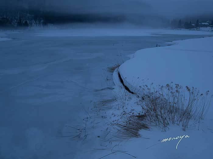 雪の中綱湖_c0085877_05255285.jpg