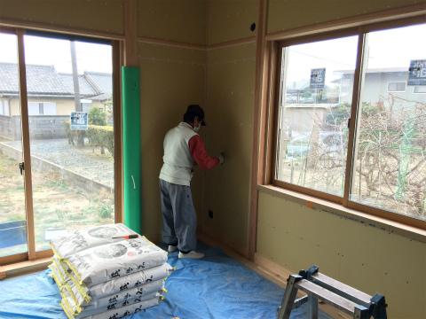浜北小松 Yさんの家 ★大工工事、塗装工事、左官工事、内装工事_d0205883_820179.jpg