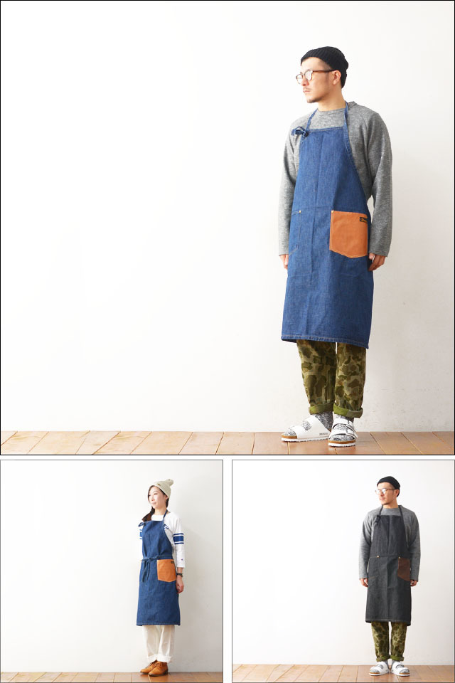 NAPRON [ナプロン] DENIM CRAFT APRON [NP-AP09] MEN\'S/LADY\'S_f0051306_19022309.jpg