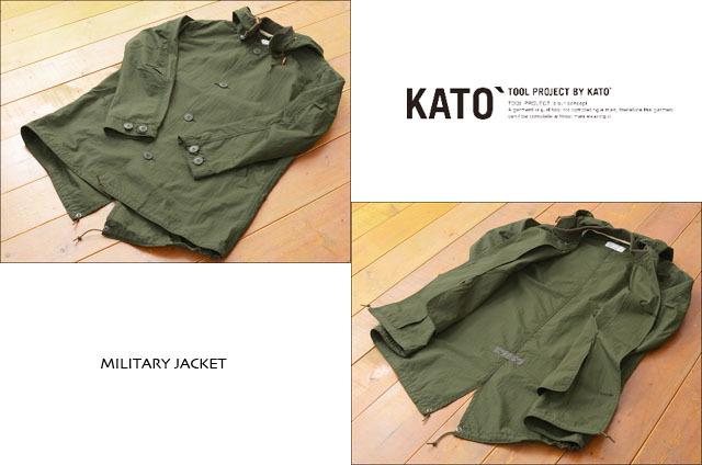 KATO\'[カトー] MA-1モッズコート・MILITARY JACKET  [KJ612721] MEN\'S_f0051306_20491706.jpg