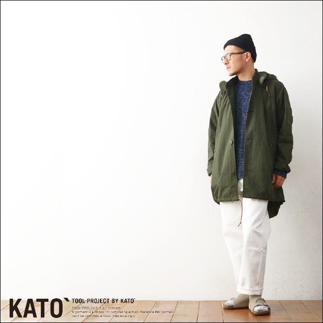 KATO\'[カトー] MA-1モッズコート・MILITARY JACKET  [KJ612721] MEN\'S_f0051306_20491727.jpg