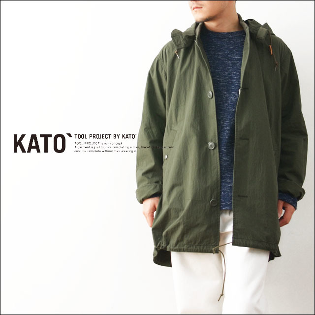 KATO\'[カトー] MA-1モッズコート・MILITARY JACKET  [KJ612721] MEN\'S_f0051306_20491748.jpg