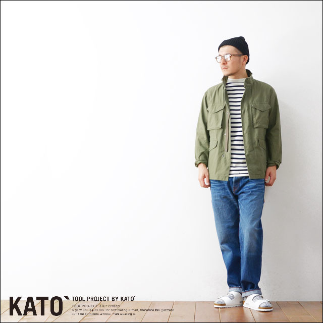 KATO\'[カトー] M65 TYPE JACKET [KJ612701] MEN\'S_f0051306_20525033.jpg