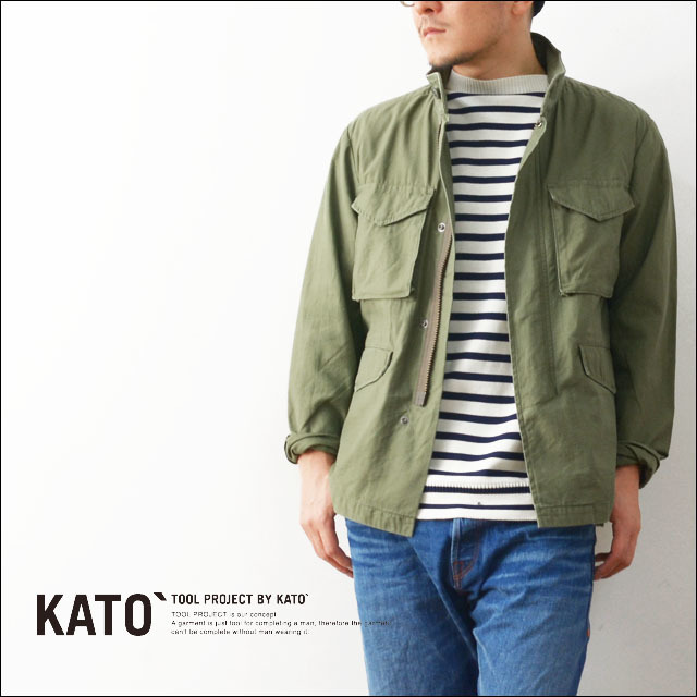 KATO\'[カトー] M65 TYPE JACKET [KJ612701] MEN\'S_f0051306_20525086.jpg