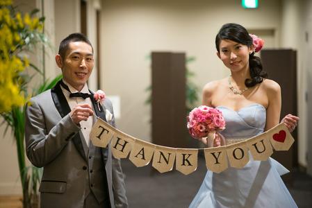 新郎新婦様からのメール ザ・ロイヤルダイナスティの花嫁様から ピンクのブーケ、プリザーブドで_a0042928_2159145.jpg