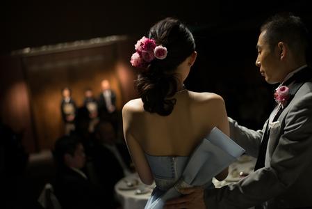 新郎新婦様からのメール ザ・ロイヤルダイナスティの花嫁様から ピンクのブーケ、プリザーブドで_a0042928_221222.jpg