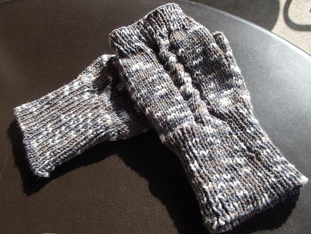 手袋 と 真心が・・・ 心に沁みた。 (黒い パグと 編)_d0105967_17071404.jpg
