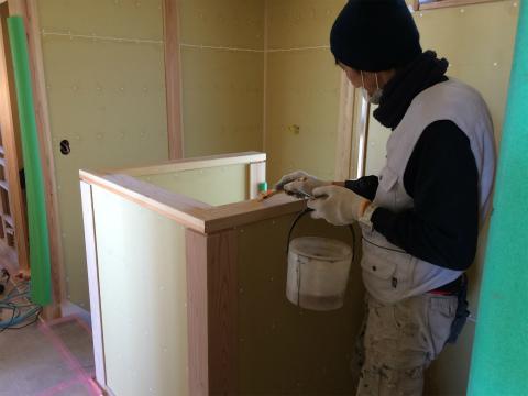 浜北小松 Yさんの家 ★大工工事、塗装工事、左官工事、内装工事_d0205883_7485717.jpg