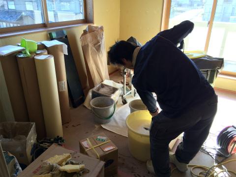 浜北小松 Yさんの家 ★大工工事、塗装工事、左官工事、内装工事_d0205883_7495584.jpg