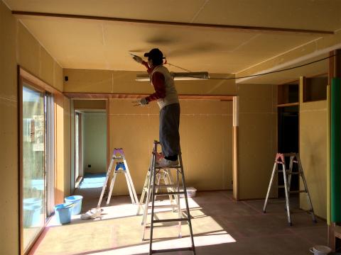 浜北小松 Yさんの家 ★大工工事、塗装工事、左官工事、内装工事_d0205883_749889.jpg