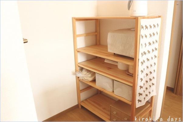 Mamichinnさんの、スタッキングシェルフ,無印良品かご,和室改造計画,棚