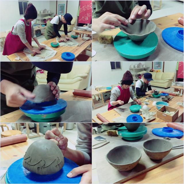 本日の陶芸教室 Vol.401_a0163716_20561376.jpg