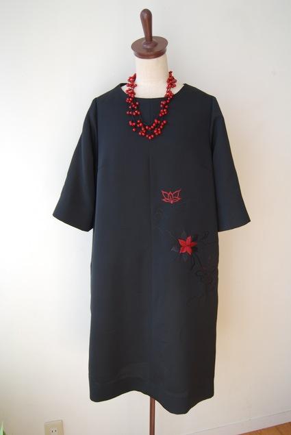着物リメイク・羽織からAラインのワンピース_d0127925_1954279.jpg