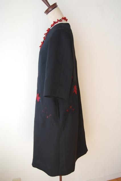 着物リメイク・羽織からAラインのワンピース_d0127925_195918.jpg