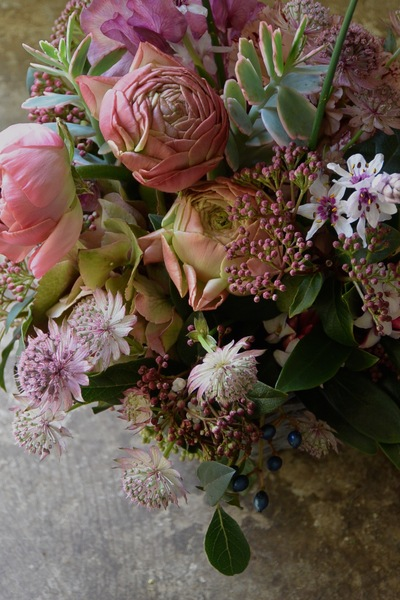 沈丁花の香り。。。_a0229658_7242368.jpg