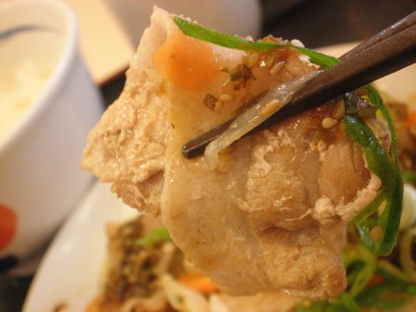 松屋の豚肉とたっぷり冬野菜炒め    箕面店_c0118393_10224171.jpg