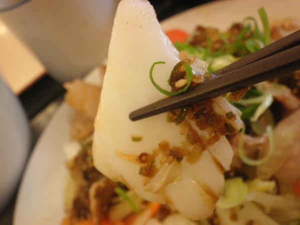 松屋の豚肉とたっぷり冬野菜炒め    箕面店_c0118393_10241951.jpg