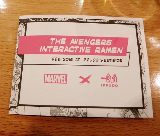 NYの人気ラーメン店、博多一風堂がアベンジャーズのマーベルとコラボ?!  Marvel Super Hero Ramen Popup_b0007805_12463517.jpg