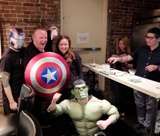 NYの人気ラーメン店、博多一風堂がアベンジャーズのマーベルとコラボ?!  Marvel Super Hero Ramen Popup_b0007805_132236.jpg