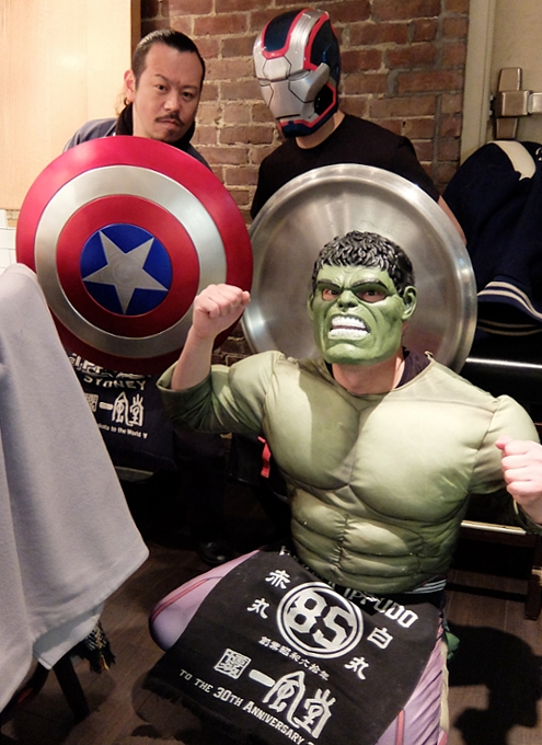NYの人気ラーメン店、博多一風堂がアベンジャーズのマーベルとコラボ?!  Marvel Super Hero Ramen Popup_b0007805_1375028.jpg
