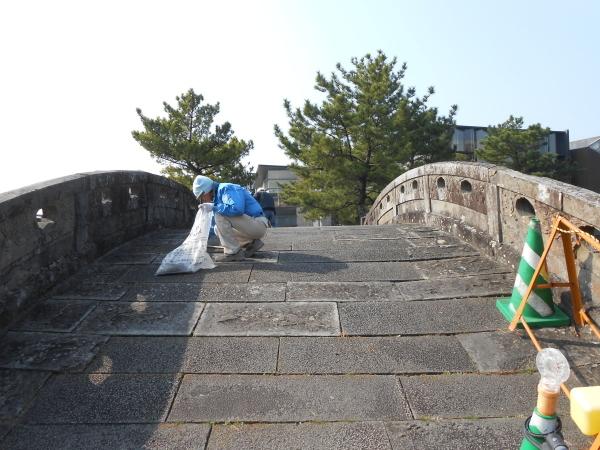 名勝和歌の浦クリーンアップ 塩竈神社と不老橋周辺_c0367107_12134718.jpg