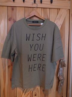 【フィルメランジェの新作そしてあのTシャツ】_c0166624_1313597.jpg