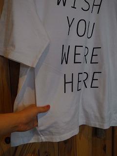 【フィルメランジェの新作そしてあのTシャツ】_c0166624_1321052.jpg