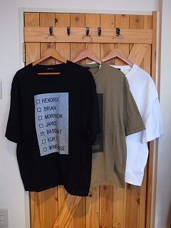 【フィルメランジェの新作そしてあのTシャツ】_c0166624_1326068.jpg