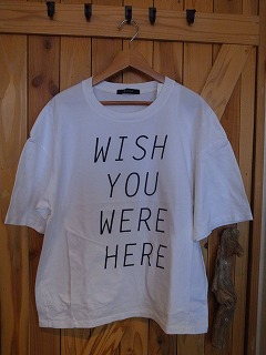 【フィルメランジェの新作そしてあのTシャツ】_c0166624_13264081.jpg