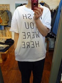 【フィルメランジェの新作そしてあのTシャツ】_c0166624_13352598.jpg