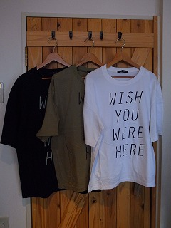 【フィルメランジェの新作そしてあのTシャツ】_c0166624_1395927.jpg
