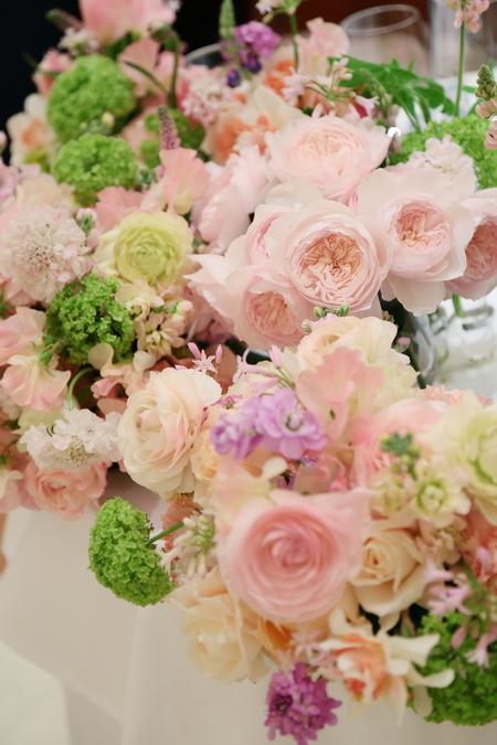 春の装花 リストランテASO様へ 春の花でおまかせで_a0042928_19375240.jpg