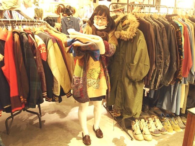 ネイティブジャケットとチノパンコーデ☆_c0330558_18303979.jpg