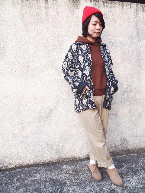 ネイティブジャケットとチノパンコーデ☆_c0330558_18412697.jpg
