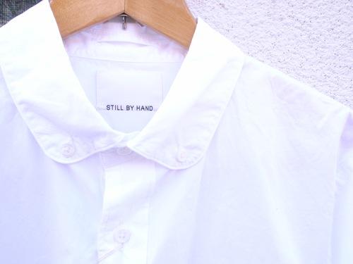 STILL BY HAND ラウンドカラーシャツ_d0334060_13191948.jpg