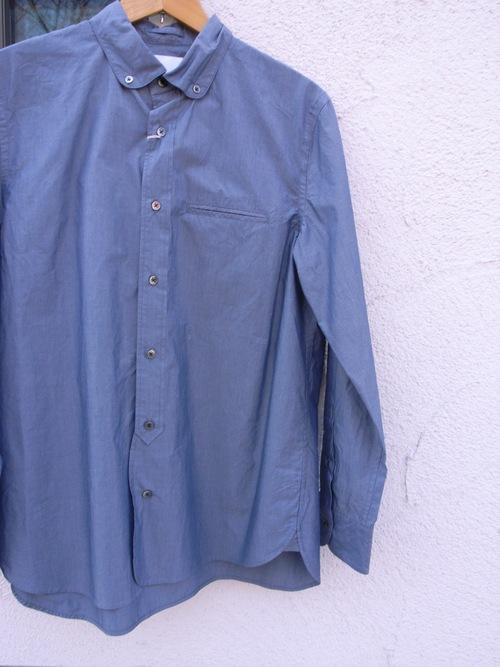 STILL BY HAND ラウンドカラーシャツ_d0334060_13194215.jpg