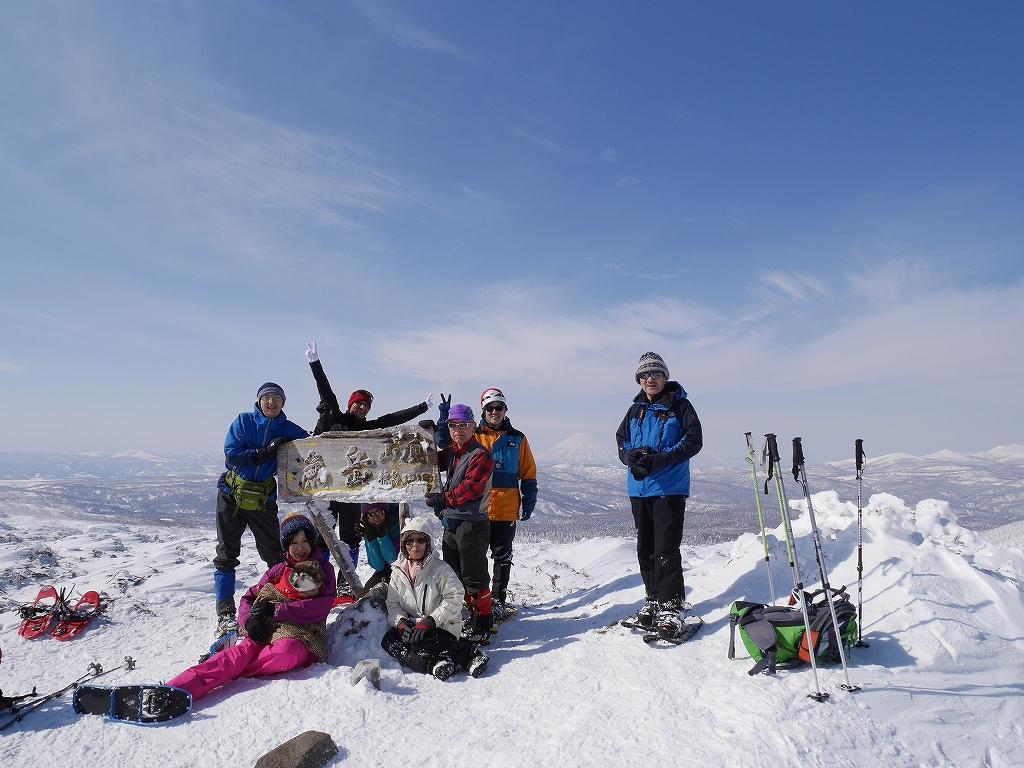 オコタンペ山、漁岳、小漁山からオコタンペ湖、2月28日-速報版-_f0138096_18283362.jpg