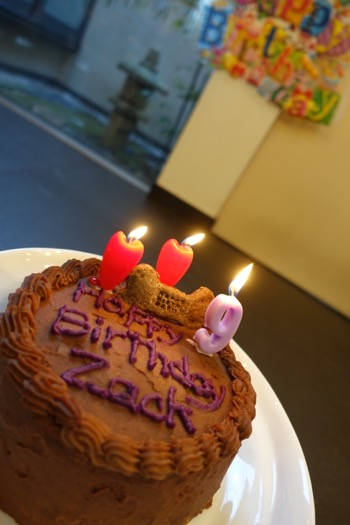 Birthday cake の巻_e0192217_21345685.jpg