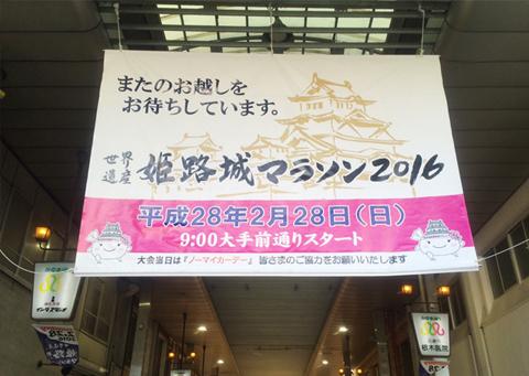 「世界遺産 姫路城マラソン2016」_c0141944_20301395.jpg