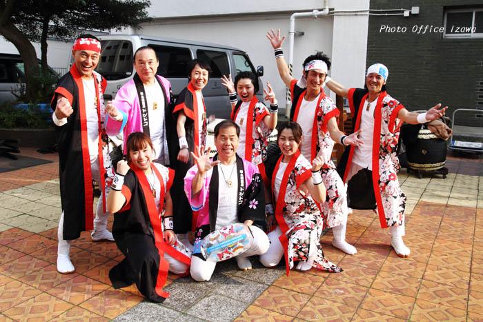 東京マラソン2016・・・和太鼓応援演奏_c0181958_11424398.jpg
